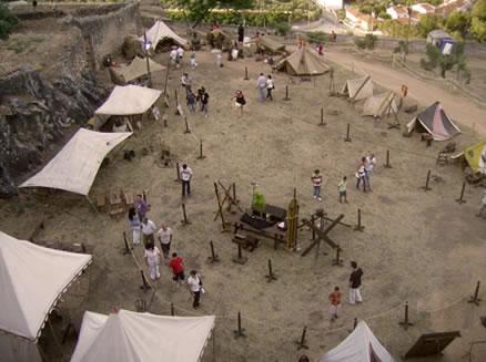 Exposições Temáticas e Acampamento Castrense